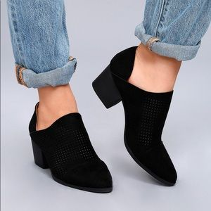 🦩2/$25 Qupid / Faux Suede Low Cut Ankle Booties